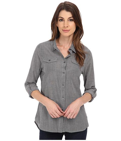 Imbracaminte Femei Jag Jeans Dawn Shirt Classic Fit Shirt Woven Tops Black Stripe