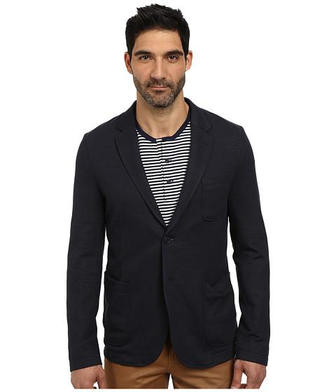 Imbracaminte Barbati Lacoste Cotton Linen Knit Blazer Navy Blue