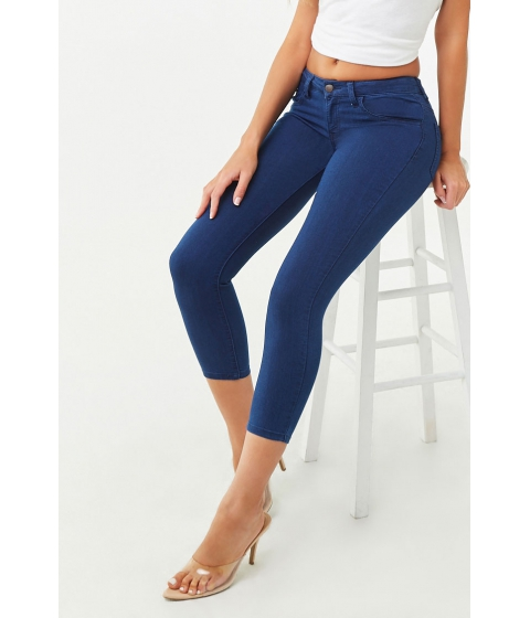Imbracaminte Femei Forever21 The Beverly Low Rise Jean Denim