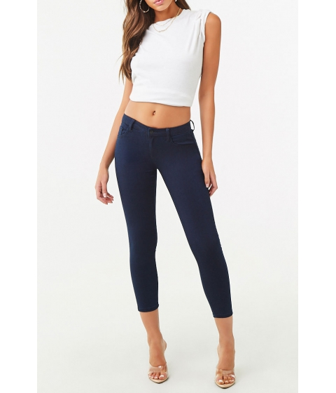 Imbracaminte Femei Forever21 The Beverly Low Rise Jean Indigo