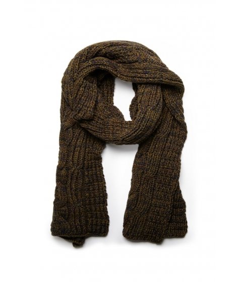 Accesorii Barbati Forever21 Marled Cable Knit Scarf Olive