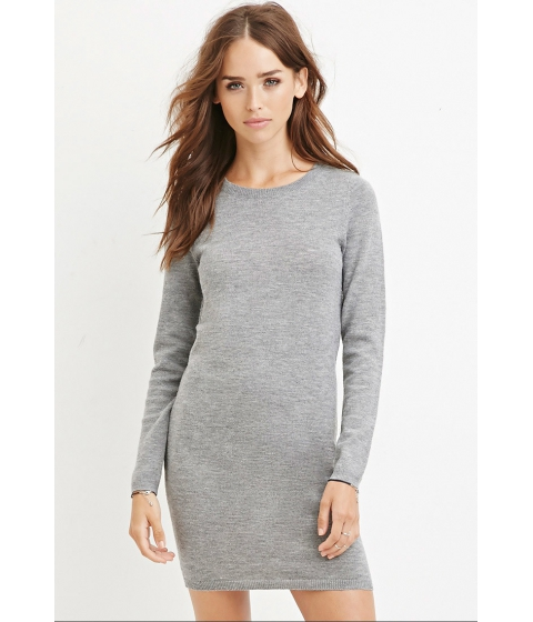 Imbracaminte Femei Forever21 Knit Sweater Dress Heather grey