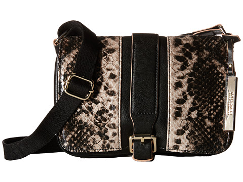 Incaltaminte Femei Kenneth Cole Reaction Inroads Crossbody Black w Natural Python