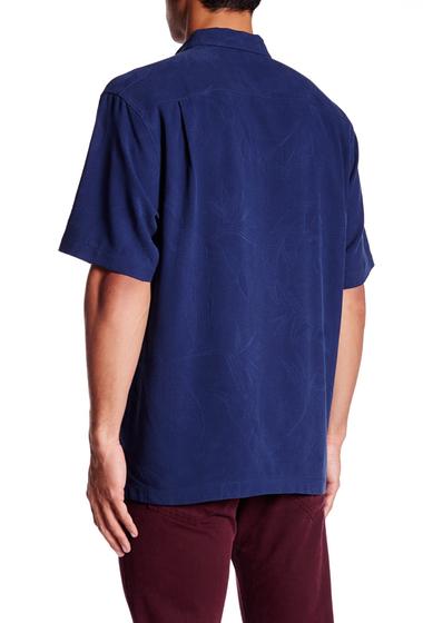Imbracaminte Barbati Tommy Bahama Bedarra Garden Original Fit Silk Short Sleeve Shirt NAVY