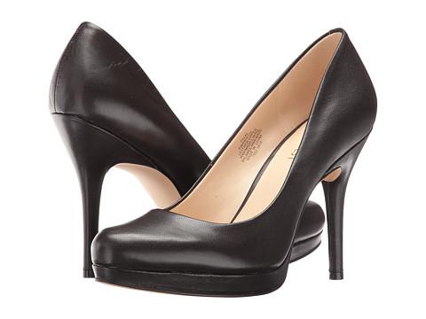 Incaltaminte Femei Nine West Kristal Pump Dark Brown Leather