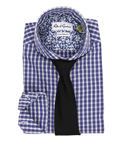 Imbracaminte Barbati Robert Graham X Tailored Fit Firenze Dress Shirt Navy