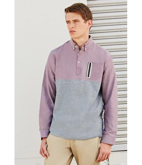 Imbracaminte Barbati Forever21 All Good Pluck Shirt Burgundygrey