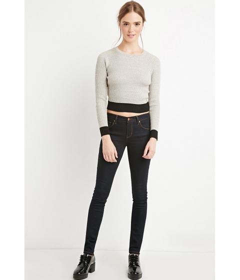 Imbracaminte Femei Forever21 Classic Skinny Jeans Indigo