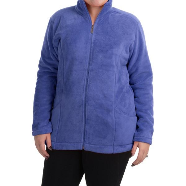 Imbracaminte Femei White Sierra Cozy Fleece Jacket (For Plus Size Women) BLUES (03)