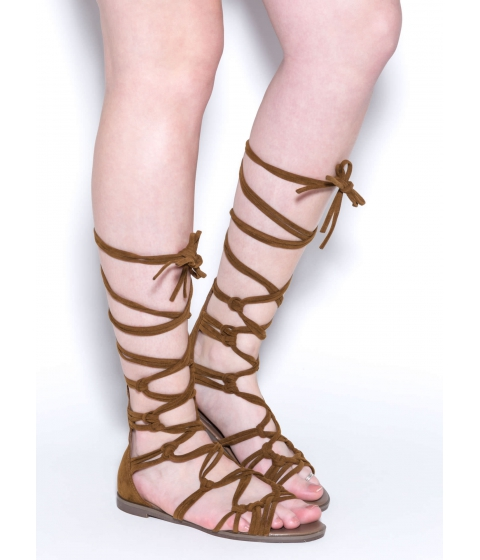 Incaltaminte Femei CheapChic Knotty By Nature Gladiator Sandals Tan