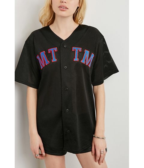Imbracaminte Femei Forever21 Married To The Mob MTTM Jersey Blackblue