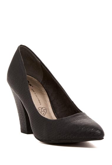 Incaltaminte Femei BC Footwear Penthouse Pump BLACK SNAKE