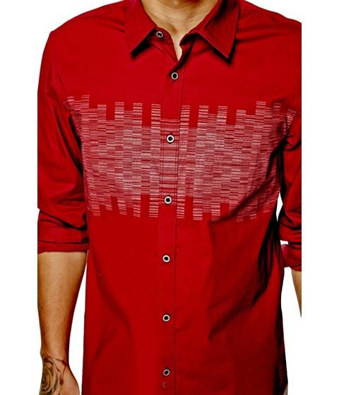 Imbracaminte Barbati GUESS Krastio Shirt red sea