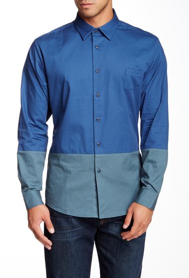 Imbracaminte Barbati People Trend Regular Fit Long Sleeve Shirt NAVY