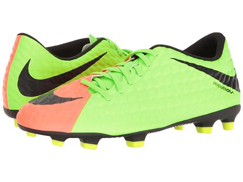 Incaltaminte Barbati Nike Hypervenom Phade II FG Electric GreenBlackHyper OrangeVolt