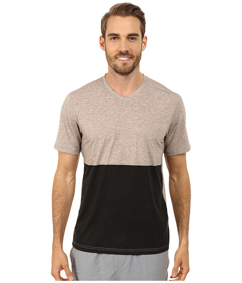 Imbracaminte Barbati Brooks Fly-By Short Sleeve Top Heather CarbBlack