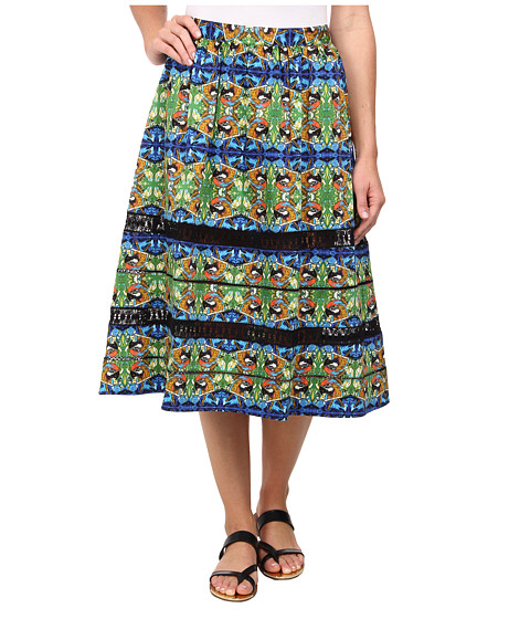 Imbracaminte Femei Sam Edelman Midi Skirt w Lace Trim Multi