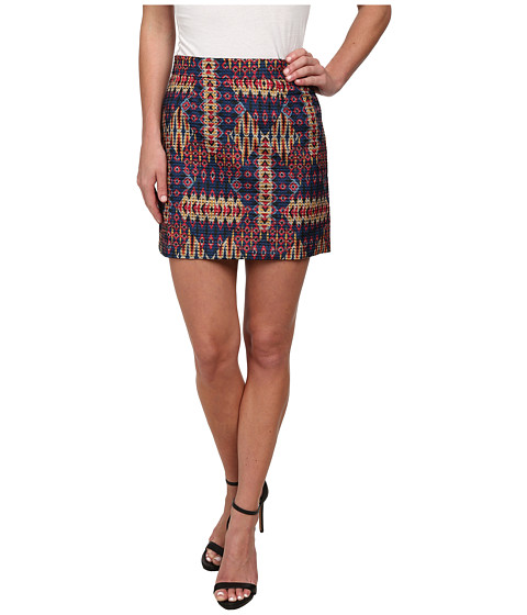 Imbracaminte Femei Sam Edelman Embroidered Mini Skirt Multi