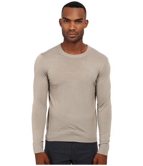 Imbracaminte Barbati Theory RilandNew Sovereign Sweater Winter Sand