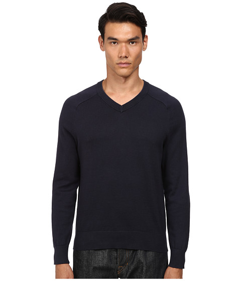 Imbracaminte Barbati Jack Spade Dexler Cotton V-Neck Sweater Navy