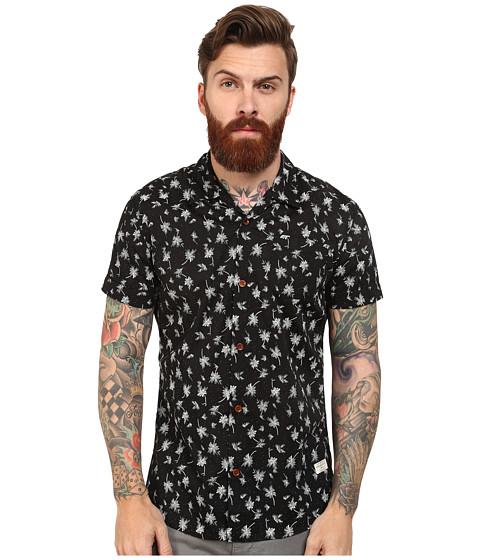 Imbracaminte Barbati Scotch Soda Short Sleeve Hawaii Print Shirt Black