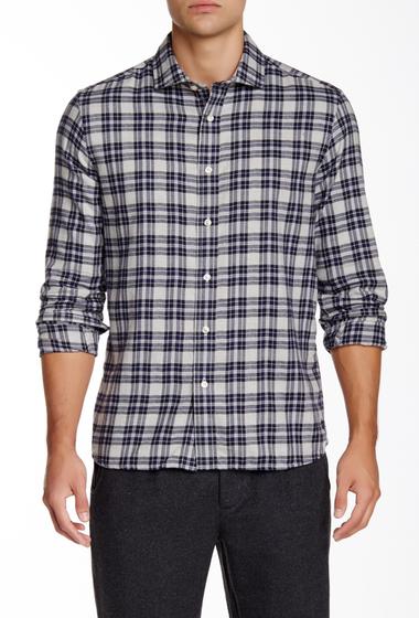 Imbracaminte Barbati Slate Stone Plaid Long Sleeve Slim Fit Shirt GNBP