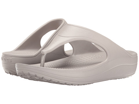 Incaltaminte Femei Crocs Sloane Platform Flip Platinum
