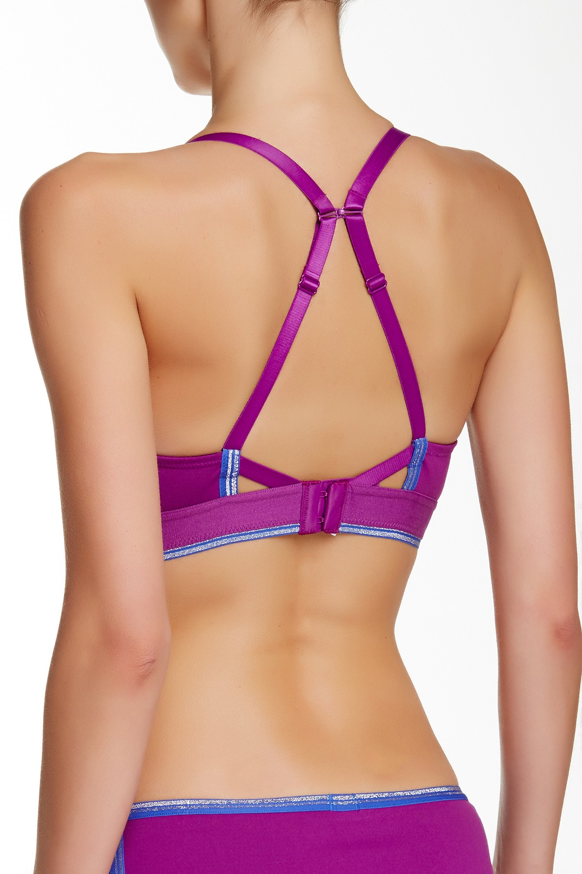 Imbracaminte Femei btempt'd by Wacoal B Active Sports Bra SPRKGRP-BL