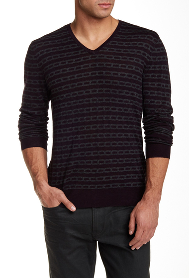Imbracaminte Barbati Star USA By John Varvatos Textured Sweater PRUCE