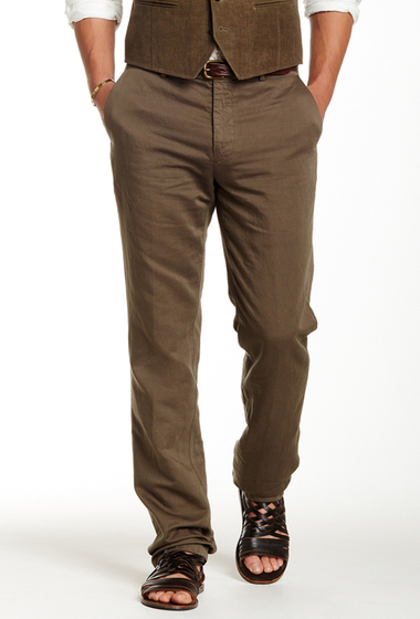 Imbracaminte Barbati John Varvatos Collection Slim Fit Pant SOIL