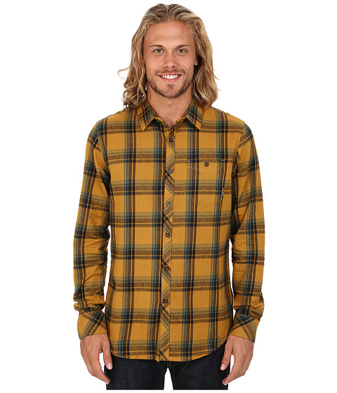 Imbracaminte Barbati Billabong Bellford Long Sleeve Button Up Shirt Caramel