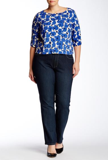 Imbracaminte Femei NYDJ Marilyn Straight Leg Jean Plus Size DENIM