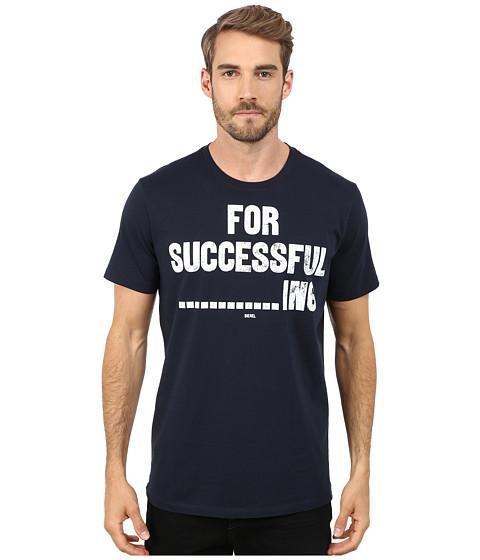 Imbracaminte Barbati Diesel T-Napol T-Shirt NavyBlue