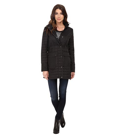 Imbracaminte Femei DKNY Hooded 34 w Patch Pockets 53414-Y5 Black