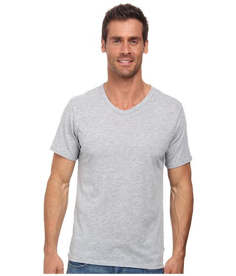 Imbracaminte Barbati Nike Solid Futura V-Neck Tee Dark Grey HeatherBlack