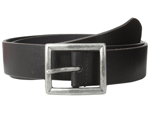 Accesorii Barbati John Varvatos 35mm Dress Leather w Center Bar Buckle Black