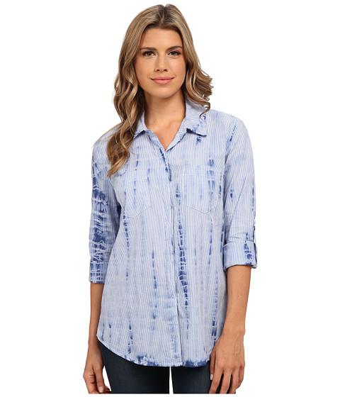 Imbracaminte Femei Splendid Neo Woven Treatment Shirt Navy Tie-Dye