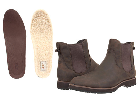 Incaltaminte Barbati UGG Briscoe Grizzly Leather