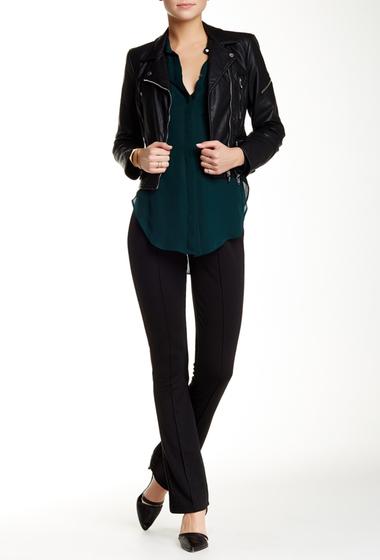 Imbracaminte Femei Seven7 Jeans Front Seam Ponte Legging Black