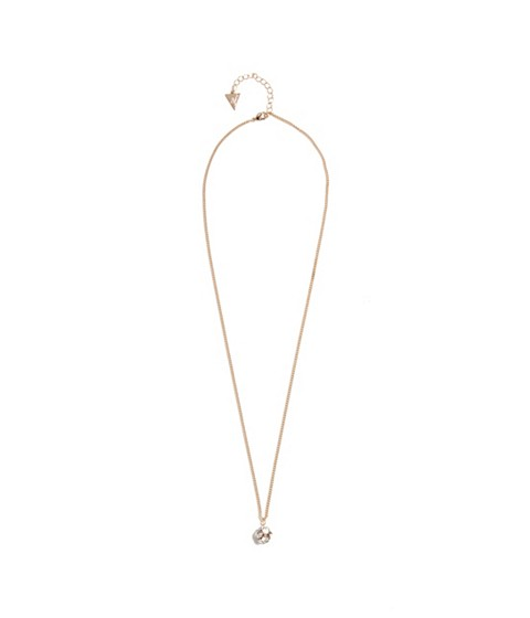 Bijuterii Femei GUESS Gold-Tone Fireball Charm Necklace gold