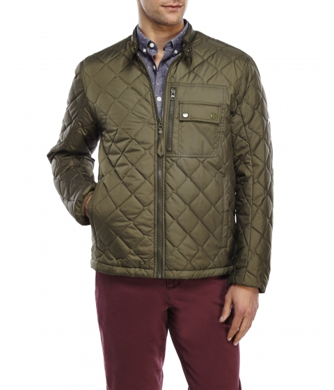 Imbracaminte Barbati Marc New York by Andrew Marc Quilted Moto Jacket Olive