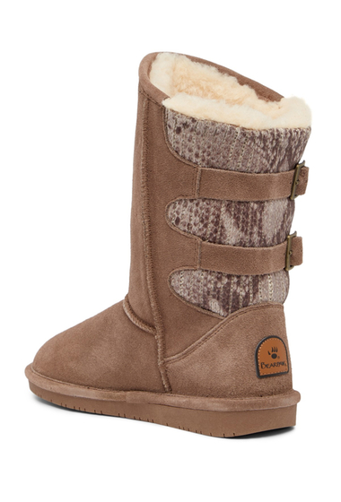 Incaltaminte Femei Bearpaw Boshie Genuine Sheepskin Boot TAUPE