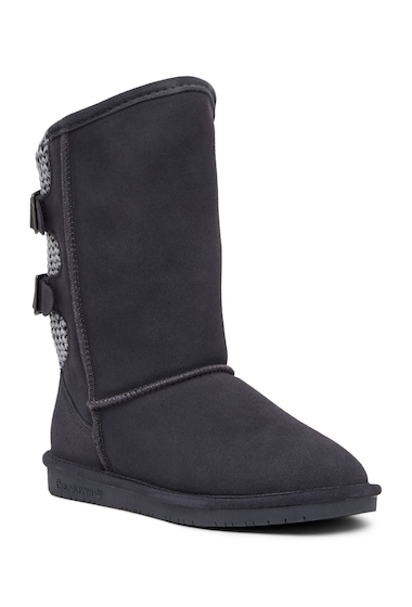Incaltaminte Femei Bearpaw Boshie Genuine Sheepskin Boot CHARCOAL