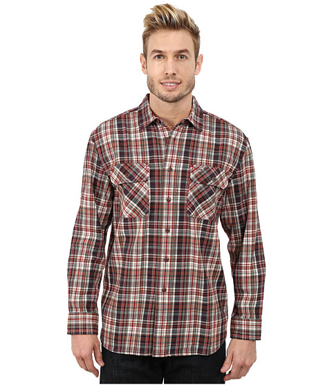Imbracaminte Barbati Pendleton Burnside Shirt RedGreen Plaid
