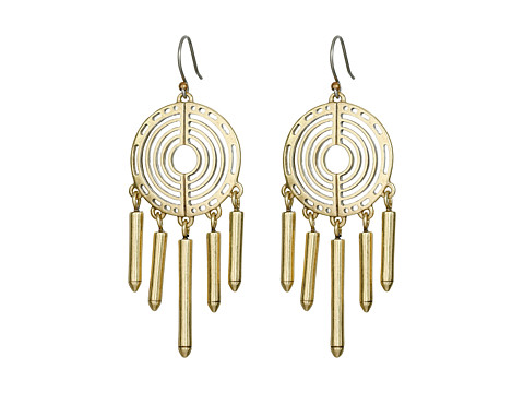 Bijuterii Femei Lucky Brand Gold Chandelier Crystal Earrings Gold