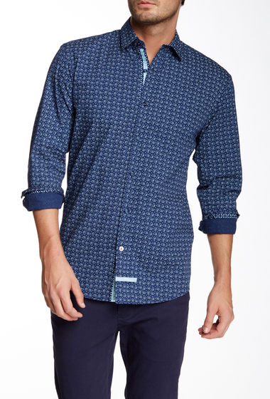 Imbracaminte Barbati English Laundry Long Sleeve Woven Shirt NV