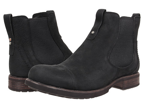 Incaltaminte Barbati UGG Gallion Black Leather