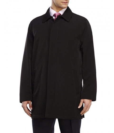 Imbracaminte Barbati Kenneth Cole New York Black Trench Coat Black