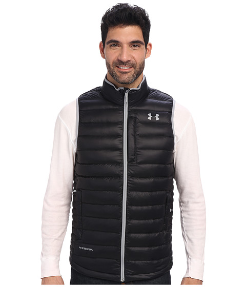 Imbracaminte Barbati Under Armour UA Coldgear Infrared Turing Vest Black Steel
