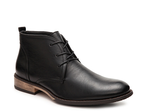 Incaltaminte Barbati J75 by Jump Murphy Chukka Boot Black
